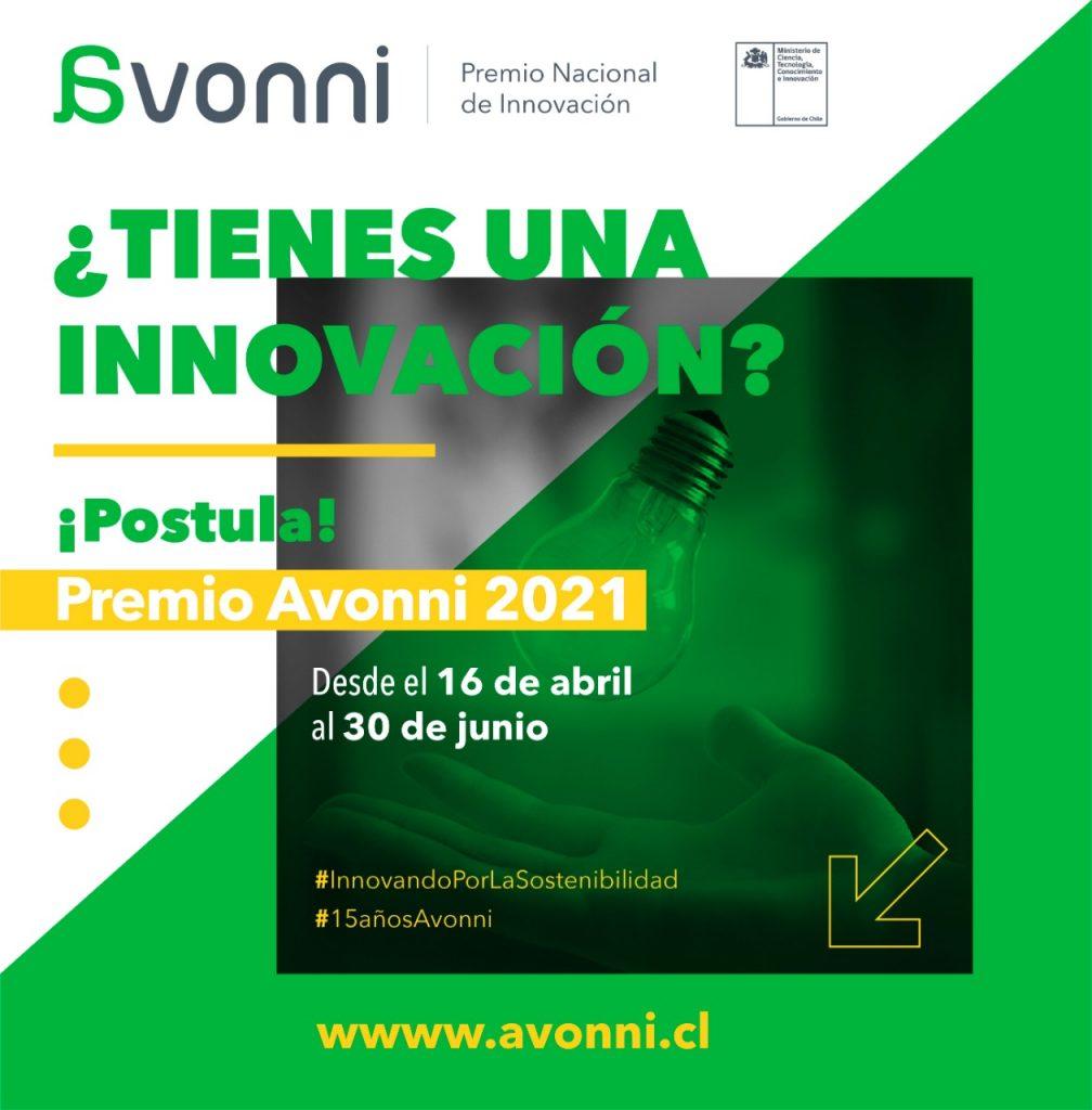Premio Nacional de Innovación Avonni